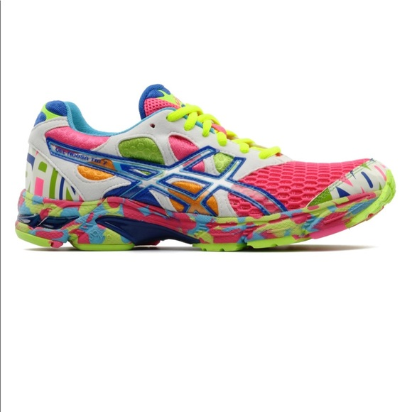 competitive price 5938b c496a Asics Shoes - ASICS Gel Noosa Tri 7 Glow In The Dark Sneakers